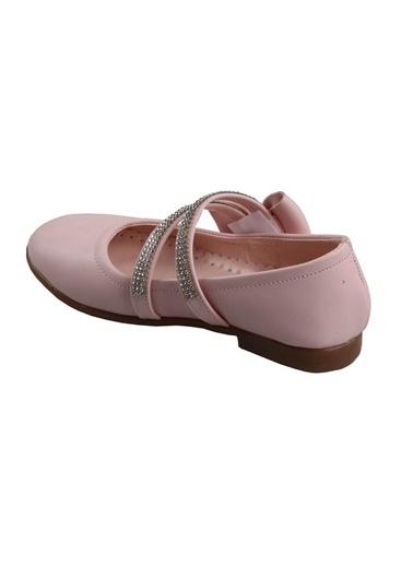 Sema Ortapedik (26-36) Pudra Kız Çocuk Günlük Babet Ayakkabı Pudra